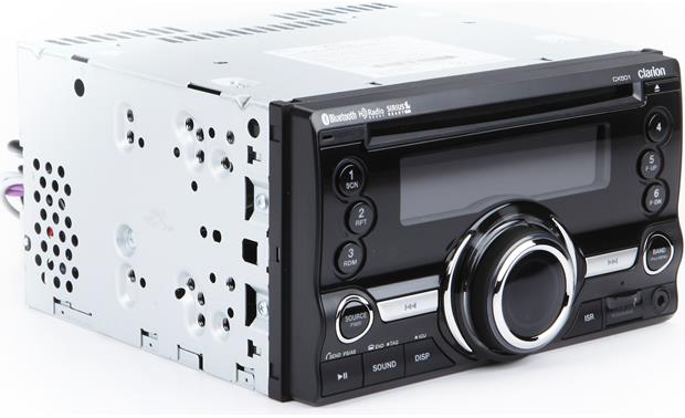 Clarion CX501 CD receiver at Crutchfield