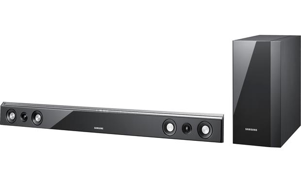 samsung hw d450 powered home theater sound bar with wireless rh crutchfield com Samsung HW-D450 Remote Code Samsung HW-D450 Review