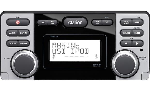 g020CMD7 o_front clarion cmd7 marine cd receiver at crutchfield com  at alyssarenee.co