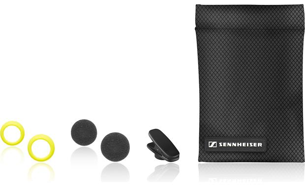 Sennheiser/adidas® PMX-680i Earbud tips, shirt clip and carrying pouch