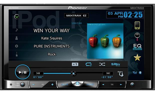 Pioneer AVH-P8400BH DVD receiver at Crutchfield.com