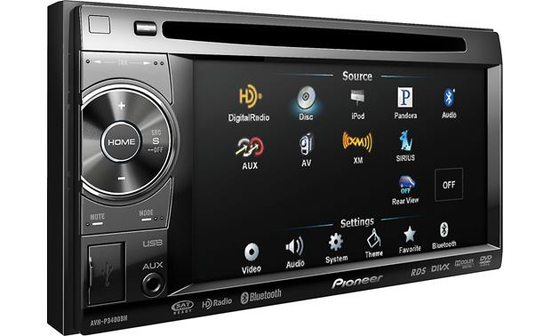 Pioneer AVH-P3400BH Other
