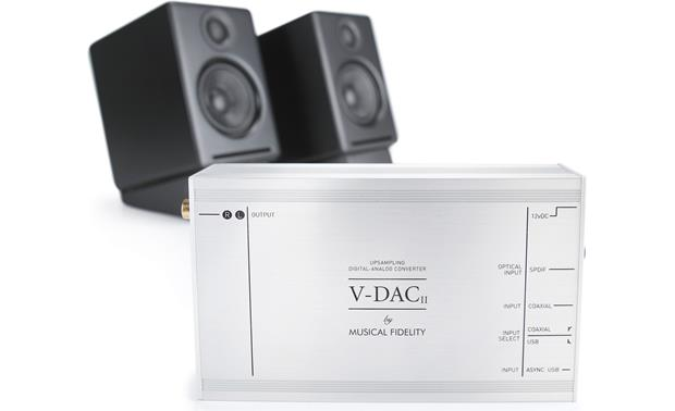 Musical Fidelity V-DAC II Stereo digital-to-analog ...
