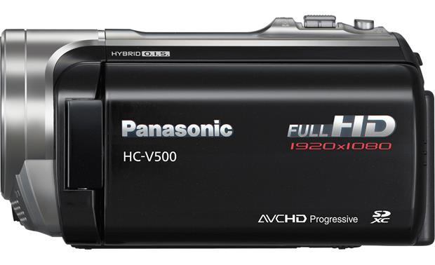 Panasonic HC-V500M Left side view