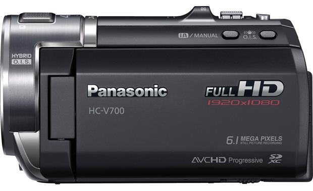 Panasonic HC-V700M Left side view