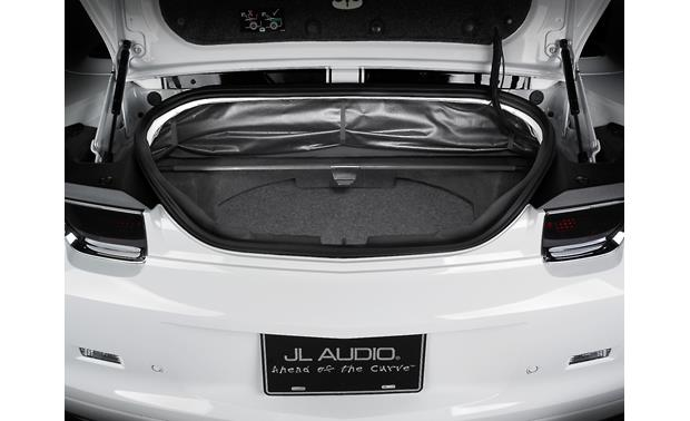 JL Audio StealthMod® Audio Upgrade — with subwoofer Shows optional Stealthbox sub