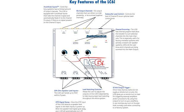 audiocontrol lc6i  gray  6