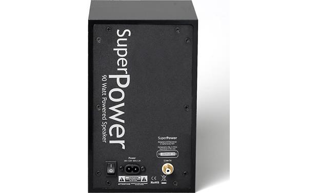 NHT SuperPower Single powered desktop speaker at Crutchfield