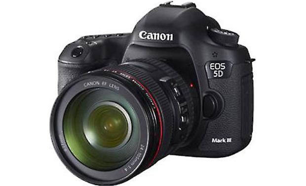 Canon EOS 5D Mark III with L-Series Zoom Lens Front