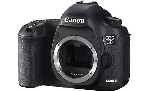 Canon EOS 5D Mark III (no lens included) Front