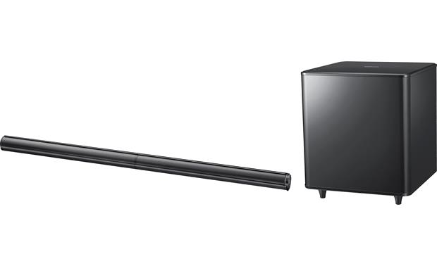 samsung hw e550 black powered home theater sound bar with rh crutchfield com samsung hw 550 manual