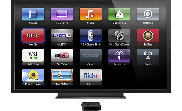 Apple TV® HD digital media receiver with Wi-Fi® and AirPlay
