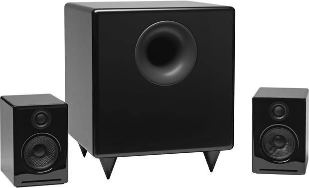 Audioengine S8 Pictured with optional Audioengine 2 powered speakers