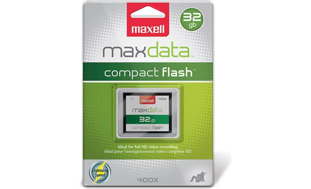 Maxell CompactFlash® Card Front