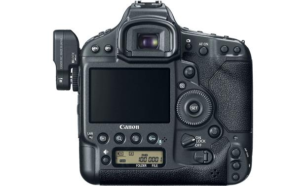 Canon EOS 1D X (no lens included) Back, with optional GP-E1 GPS receiver (not included)