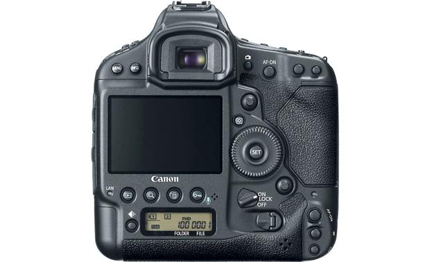 Canon EOS 1D X (no lens included) Back