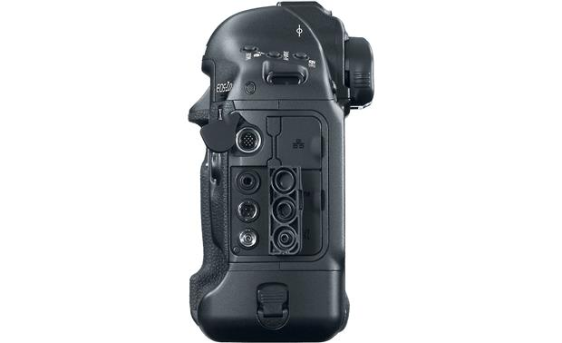 Canon EOS 1D X (no lens included) Left side view, with some ports shown