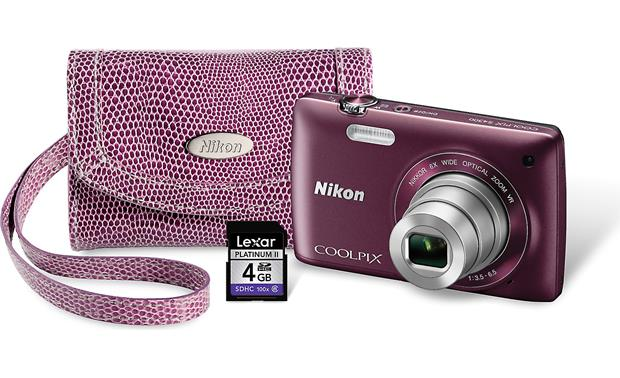Nikon S4300 Gift Pack Front