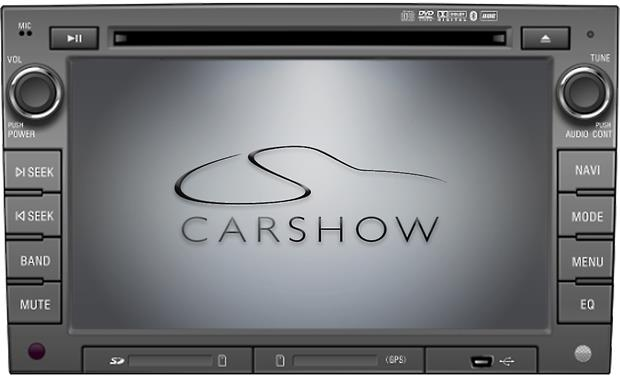 Car Show CS-GM1010-P11 Navigation Receiver Front