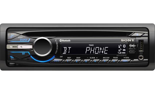 sony mex bt39uw cd receiver at crutchfield com car stereo color wiring diagram sony mex bt39uw front