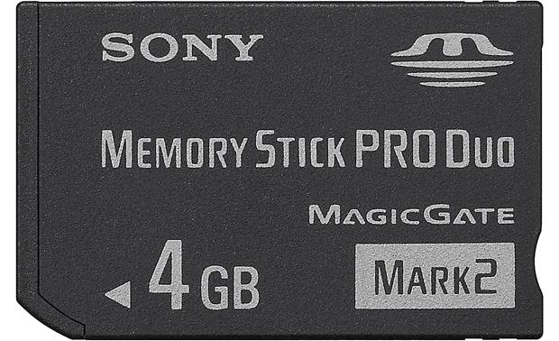 Sony Memory Stick® PRO Duo™ Mark 2 Front
