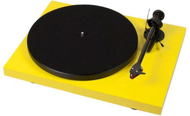 Pro-Ject Debut Carbon Gloss Yellow (dust cover included, not shown)
