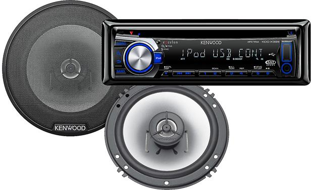 Kenwood Car Stereo Package Front