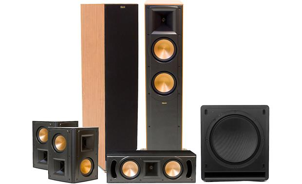 Klipsch RF-62 II home theater speaker system Front