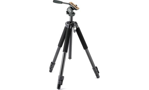 Velbon Sherpa+ 630 Tripod and FHD61QN Video Head Front