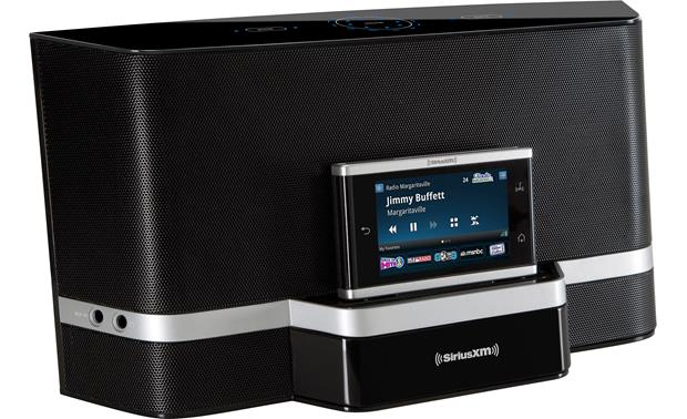 SiriusXM Portable Speaker Dock Front view, with tuner (sold seperately)