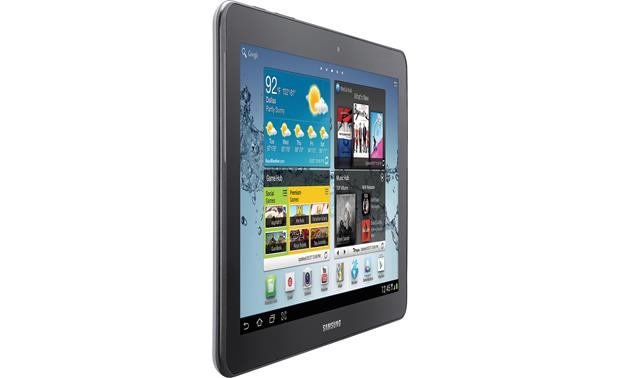 Samsung Galaxy Tab™ 2 Left front view