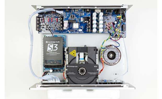 Cambridge Audio Azur 851C With cover removed