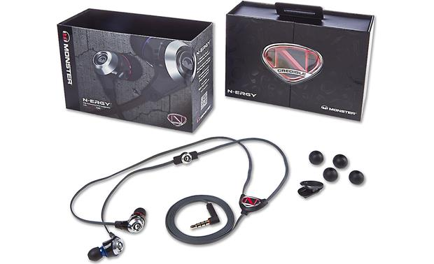 NCredible NErgy by Monster® Packaging and included accessories