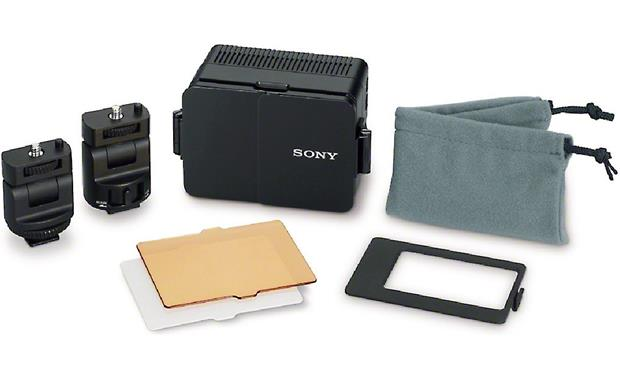 Sony HVL-LE1 Shown with supplied accessories