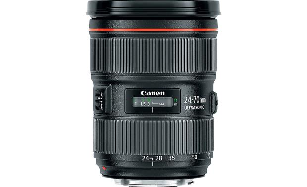Canon EF 24-70mm f/2.8L II USM Top view
