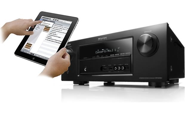 Denon AVR-2313CI Denon's free control app for iPad (not included)