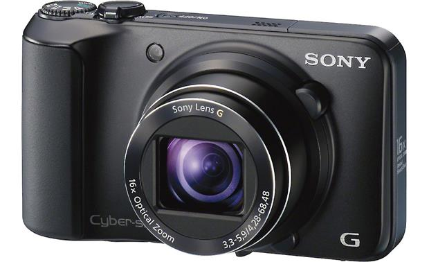 Sony Cyber-Shot® DSC-H90 Bundle Camera (3/4-angle)