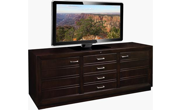 American Quality Furniture Woodwind Cabinet (TV not included)