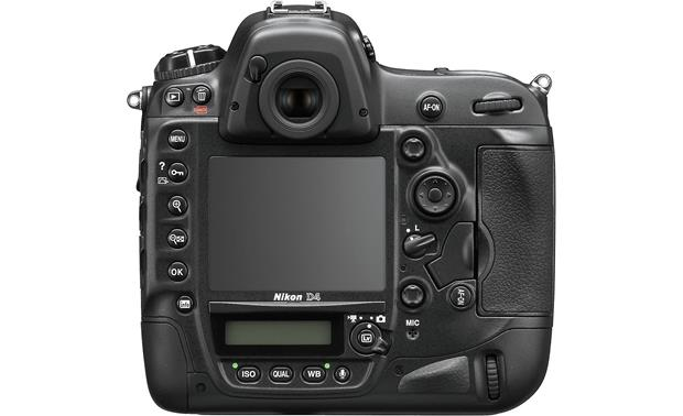 Nikon D4 (no lens included) Back
