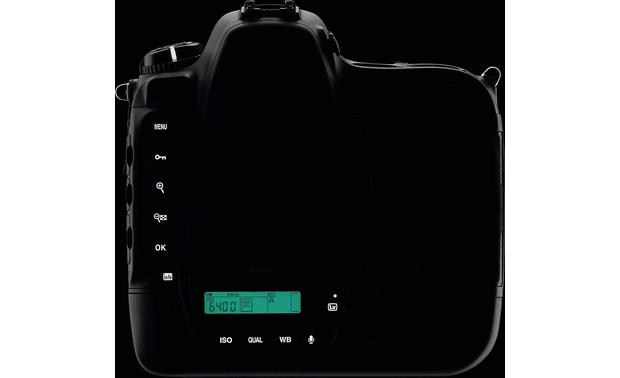 Nikon D4 (no lens included) Illuminated back panel controls