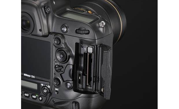 Nikon D4 (no lens included) Memory card slots