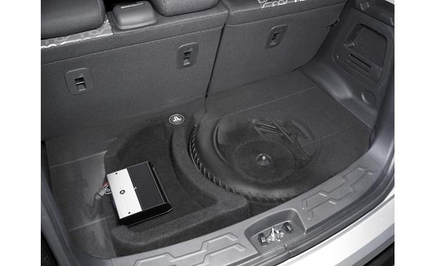 JL Audio StealthMod® Audio Upgrade Shown with optional Stealthbox sub