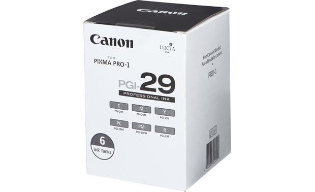 Canon PGI-29 6-pack of color ink tanks Front