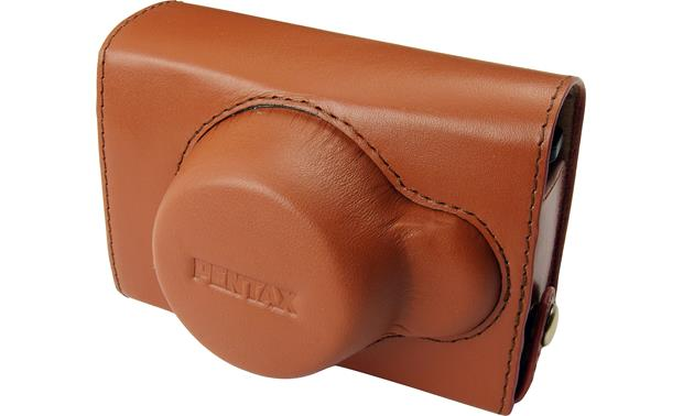 PENTAX Q Vintage Leather Case Front