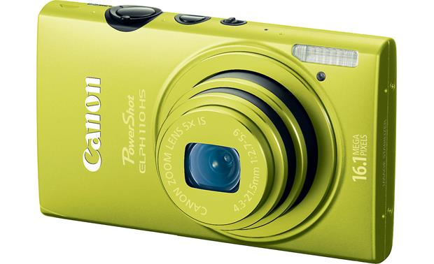 Canon PowerShot Elph 110 HS Front - Green