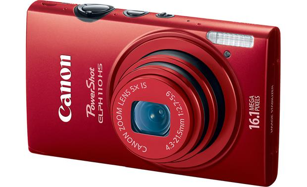 Canon PowerShot Elph 110 HS Front - Red