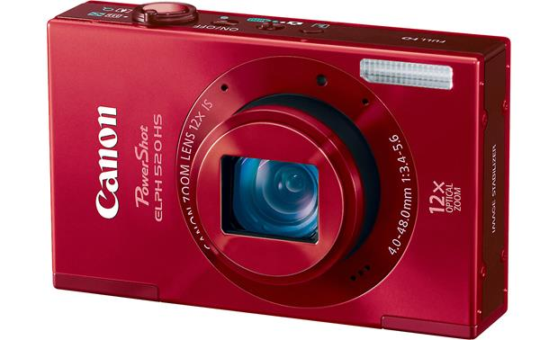 Canon PowerShot Elph 520 HS Front - Red