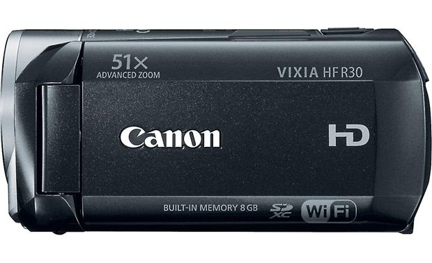 Canon VIXIA HF R30 Left side view