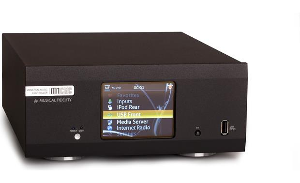 Musical Fidelity M1 CLiC Front angle