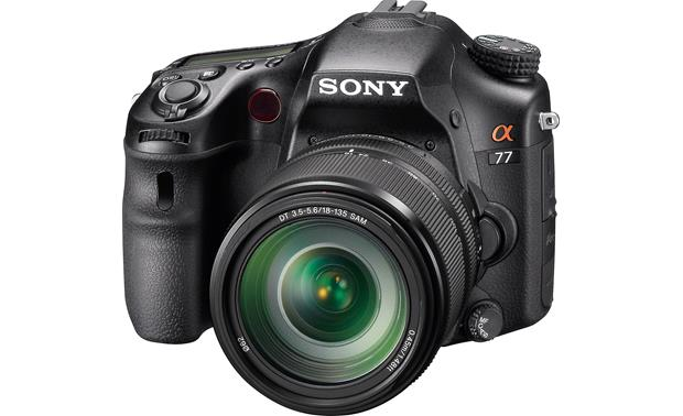 Sony Alpha SLT-A77VM Kit Front
